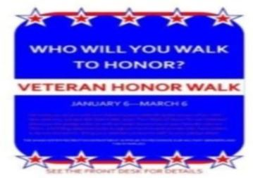 Veteran Honor Walk