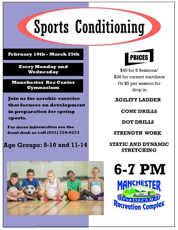 sports conditioning flyer feb 2020