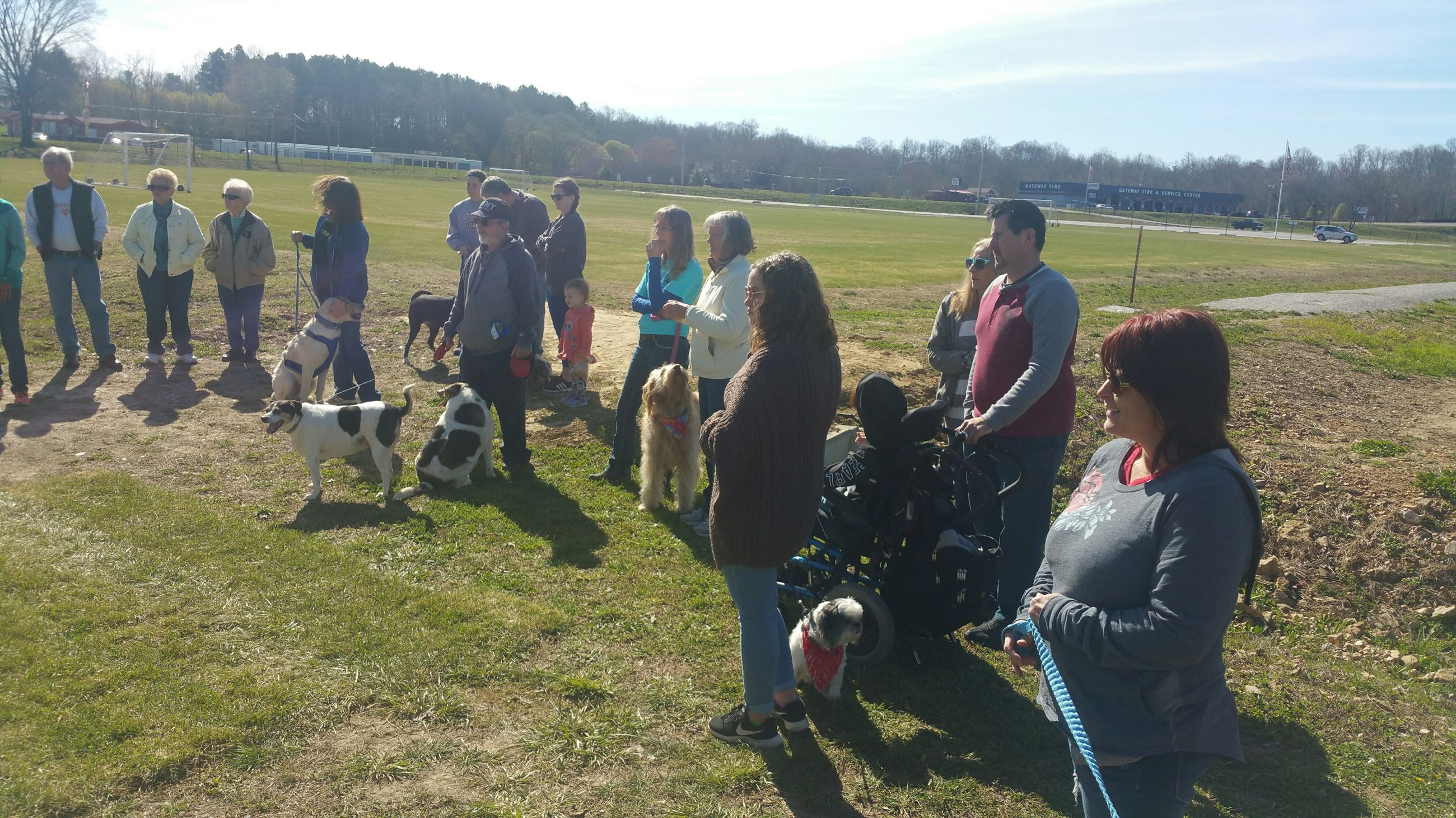 Dog Park Grand Opening